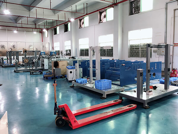 Paper Bag Handle Machine Manufacturing Center