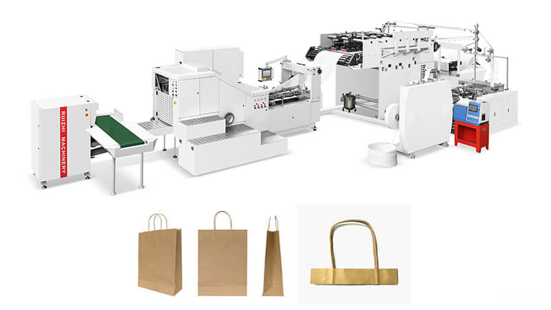 Automatic Shopping Paper Bag Machine