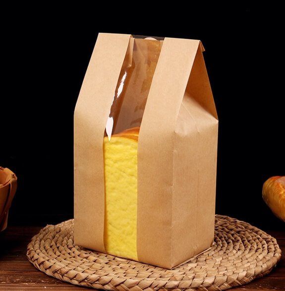Strip window Type paper bag